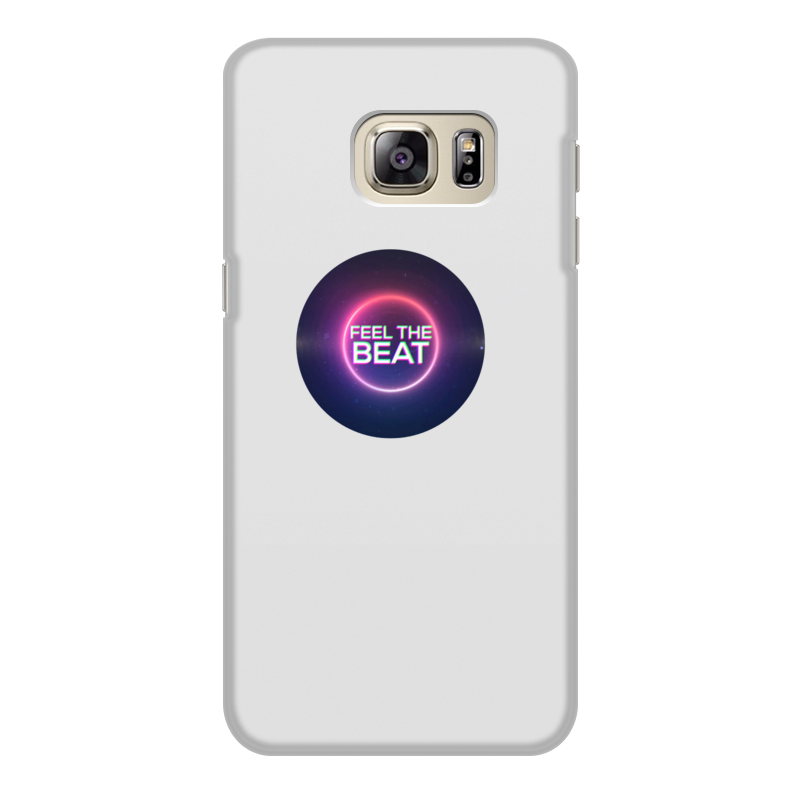 Чехол для Samsung Galaxy S6 Edge, объёмная печать Printio Feel the beat touch and feel
