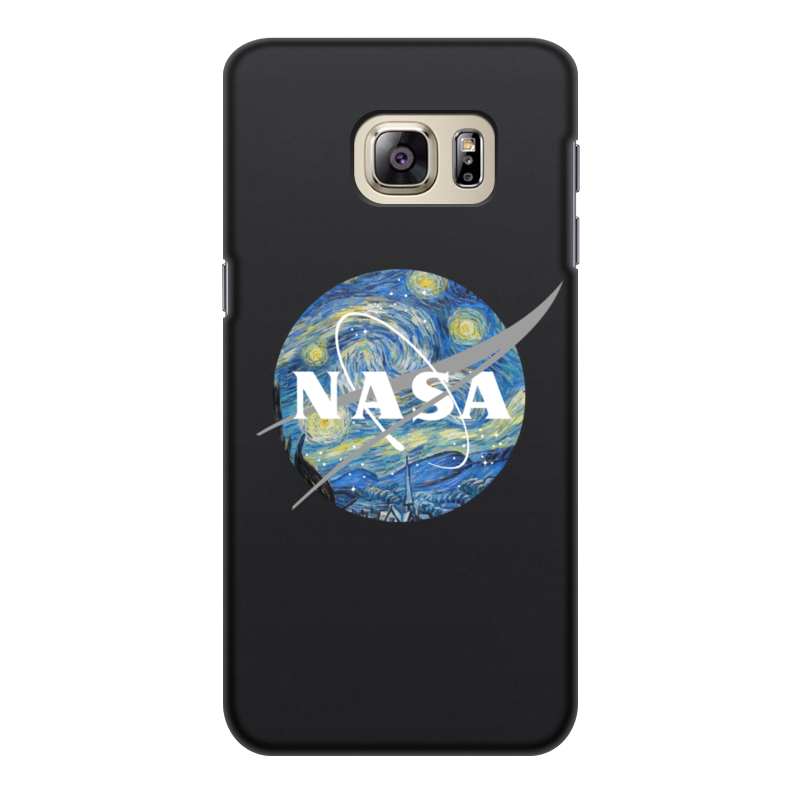 Чехол для Samsung Galaxy S6 Edge, объёмная печать Printio /nasa galaxy s6