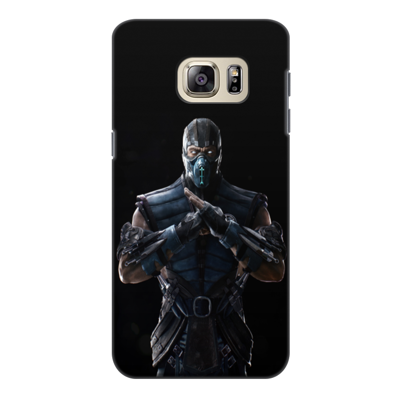 Чехол для Samsung Galaxy S6 Edge, объёмная печать Printio Mortal kombat x (sub-zero) charming butterfly leather wallet pouch for iphone 6 6s galaxy s6 s6 edge size 14 4 x 7 5 x 1 5cm