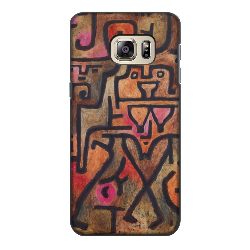 Чехол для Samsung Galaxy S6 Edge, объёмная печать Printio Лесные ведьмы (пауль клее) чехол для samsung galaxy s5 printio лесные ведьмы пауль клее