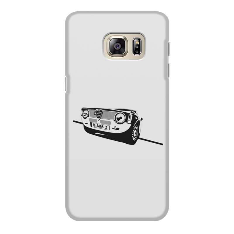 Чехол для Samsung Galaxy S6 Edge, объёмная печать Printio Retro alfa romeo racing чехол для samsung galaxy s8 plus объёмная печать printio retro alfa romeo racing