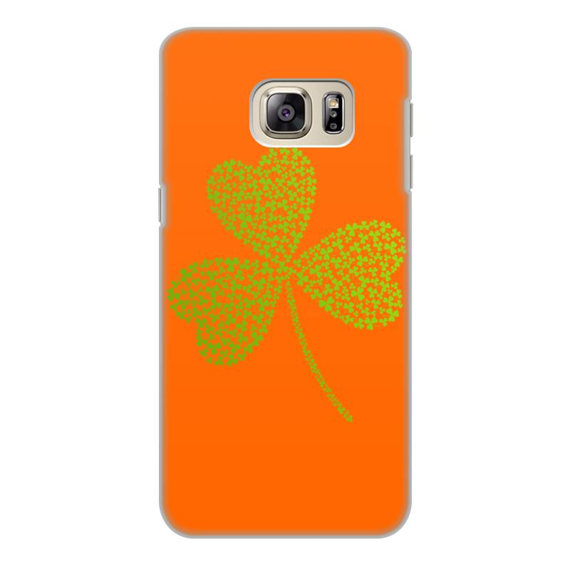 Чехол для Samsung Galaxy S6 Edge, объёмная печать Printio Без названия чехол pulsar clipcase soft touch для samsung galaxy s6 sm g920f s6 edge белый
