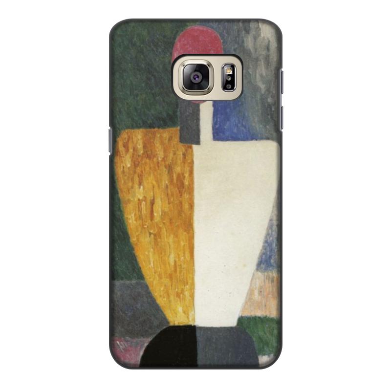 Чехол для Samsung Galaxy S6 Edge, объёмная печать Printio Торс (фигура с розовым лицом) (малевич) чехол для samsung galaxy s5 printio торс фигура с розовым лицом малевич