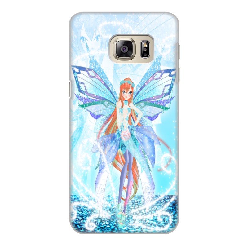 Чехол для Samsung Galaxy S6 Edge, объёмная печать Printio Bianka (club winx) 50pcs lot 50n03 50n03a to252