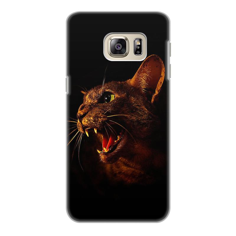 Чехол для Samsung Galaxy S6 Edge, объёмная печать Printio Кошки. магия красоты чехол для samsung galaxy s6 объёмная печать printio зимние забавы