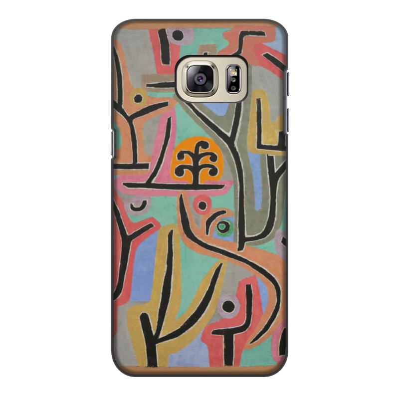 Фото - Чехол для Samsung Galaxy S6 Edge, объёмная печать Printio Парк возле лю (пауль клее) конструктор nd play автомобильный парк 265 608