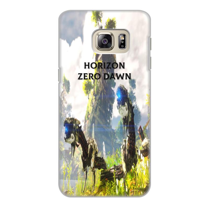 Чехол для Samsung Galaxy S6 Edge, объёмная печать Printio Horizon zero dawn чехол pulsar clipcase soft touch для samsung galaxy s6 sm g920f s6 edge белый