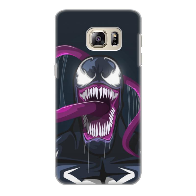 Чехол для Samsung Galaxy S6 Edge, объёмная печать Printio Веном (venom) cellular line book agenda чехол для samsung galaxy s6 edge black 24065
