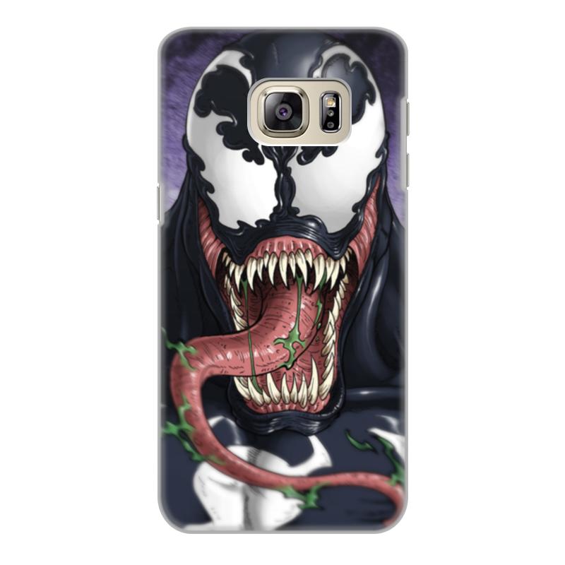 Чехол для Samsung Galaxy S6 Edge, объёмная печать Printio Веном (venom)