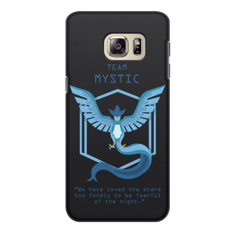 Чехол для Samsung Galaxy S6 Edge, объёмная печать Printio Team mystic