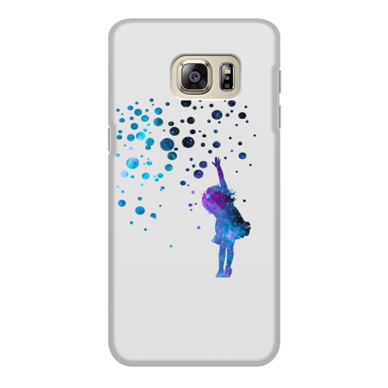 Чехол для Samsung Galaxy S6 Edge, объёмная печать Printio Дотянуться до звезд чехол для samsung galaxy note 2 printio дотянуться до звезд
