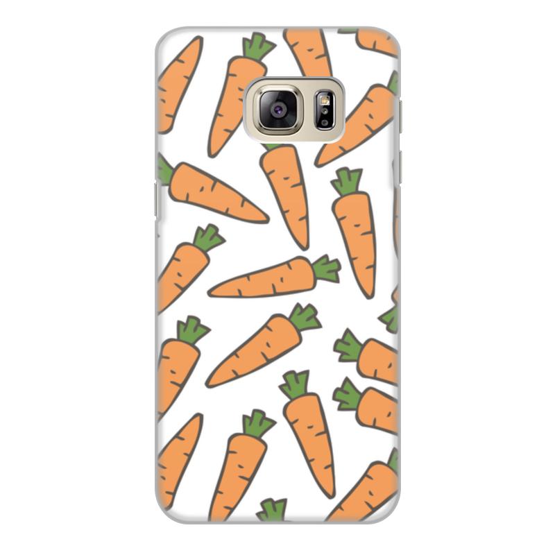 Чехол для Samsung Galaxy S6 Edge, объёмная печать Printio Морковки чехол для samsung galaxy s6 vivanco 36284 transparent