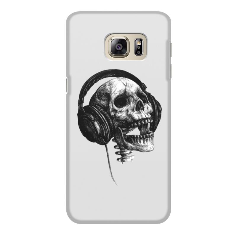Чехол для Samsung Galaxy S6 Edge объёмная печать Printio Музыка навсегда