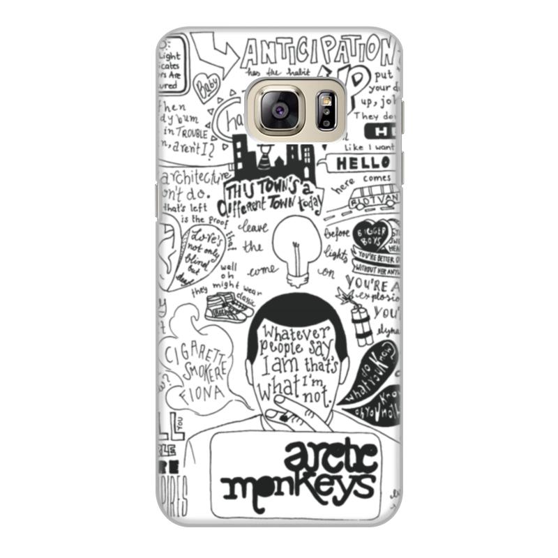 Чехол для Samsung Galaxy S6 Edge объёмная печать Printio Arctic monkeys