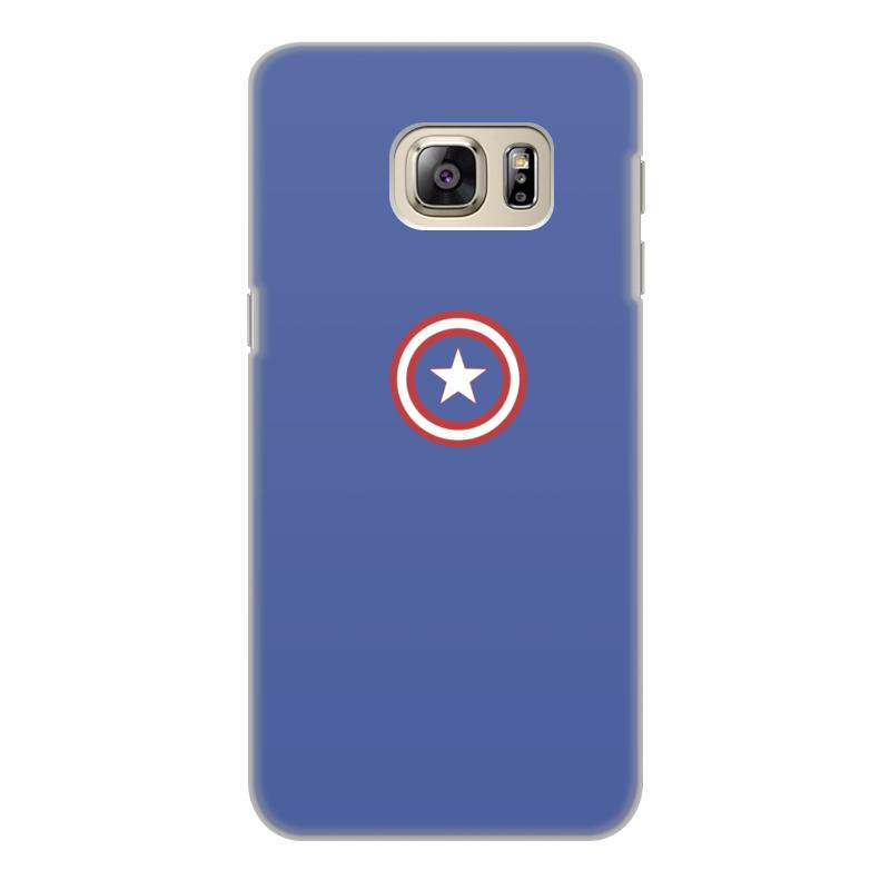 Чехол для Samsung Galaxy S6 Edge, объёмная печать Printio Капитан америка чехол для samsung galaxy s6 edge объёмная печать printio железный человек