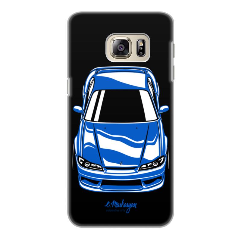 лучшая цена Чехол для Samsung Galaxy S6 Edge, объёмная печать Printio Silvia s15