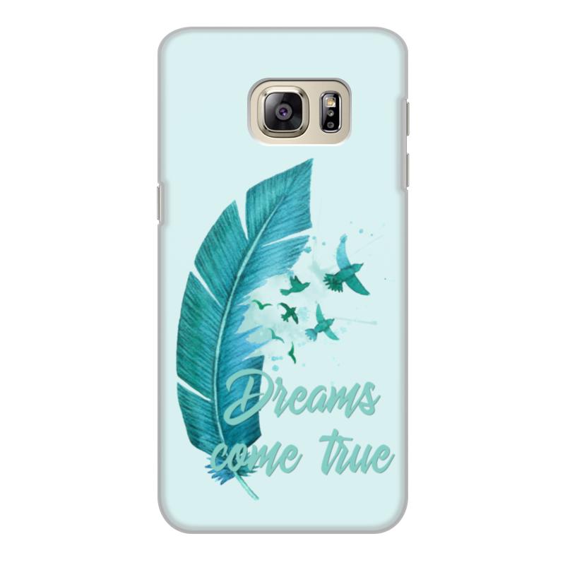 Чехол для Samsung Galaxy S6 Edge, объёмная печать Printio Dreams come true