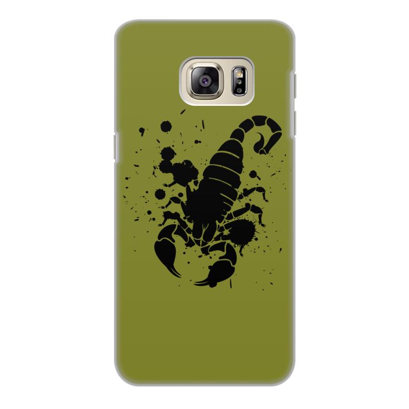 Чехол для Samsung Galaxy S6 Edge, объёмная печать Printio Скорпион (24.10-21.11) спусковой механизм для арбалетов скорпион interloper cr 013006