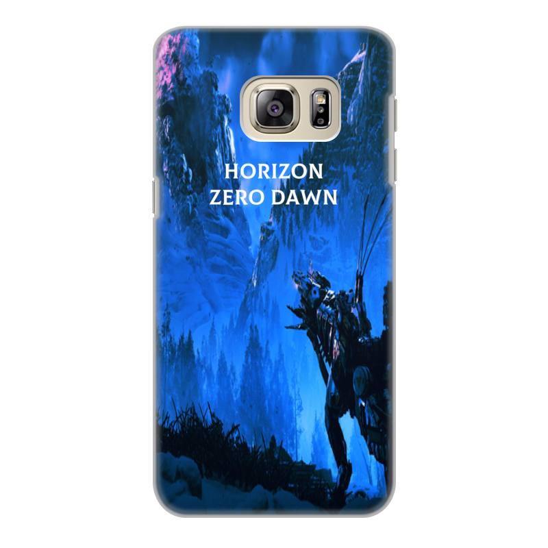 Чехол для Samsung Galaxy S6 Edge, объёмная печать Printio Horizon zero dawn чехол для samsung galaxy s6 edge объёмная печать printio собачнику охотнику