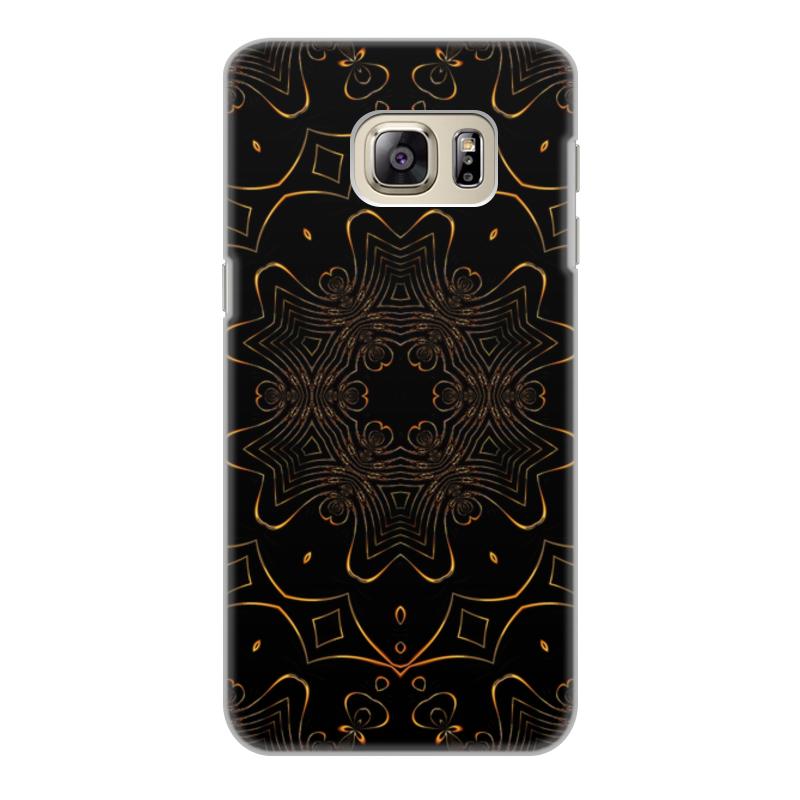 все цены на Чехол для Samsung Galaxy S6 Edge, объёмная печать Printio Золотая вязь