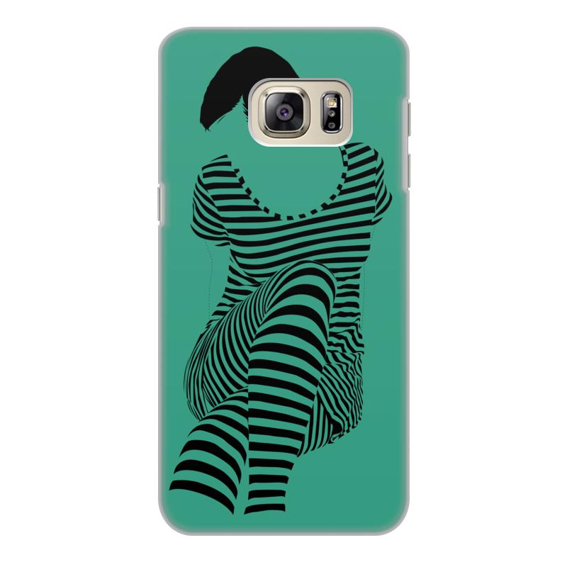 Чехол для Samsung Galaxy S6 Edge, объёмная печать Printio раздвоение личности