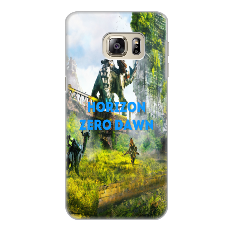Чехол для Samsung Galaxy S6 Edge, объёмная печать Printio Horizon zero dawn чехол для samsung g928 galaxy s6 edge plus glossy cover золотистый
