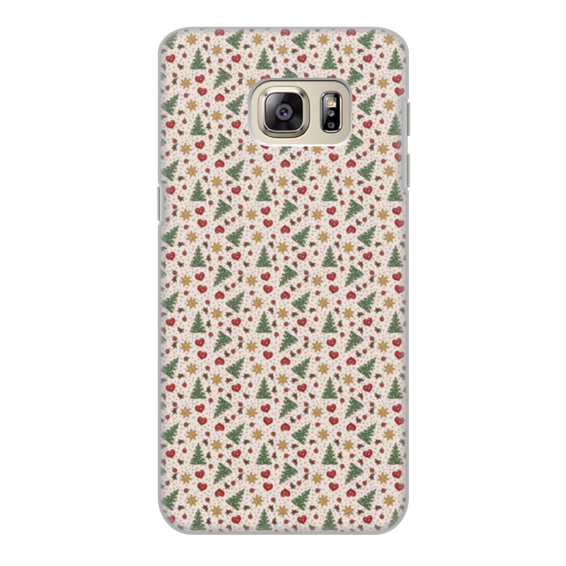 Чехол для Samsung Galaxy S6 Edge, объёмная печать Printio Праздник