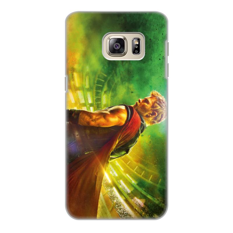 Чехол для Samsung Galaxy S6 Edge, объёмная печать Printio Тор рагнарёк