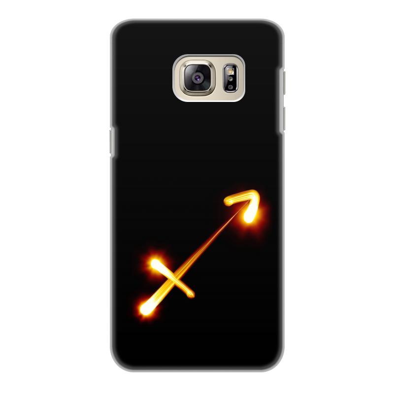 Чехол для Samsung Galaxy S6 Edge, объёмная печать Printio Стрельцу (22.11-21.12) чехол для samsung galaxy s6 edge объёмная печать printio железный человек