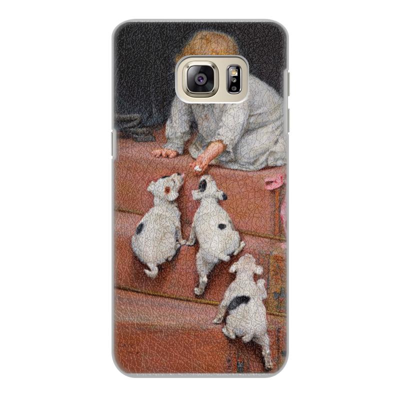 все цены на Чехол для Samsung Galaxy S6 Edge, объёмная печать Printio Картина артура элсли (1860-1952) онлайн