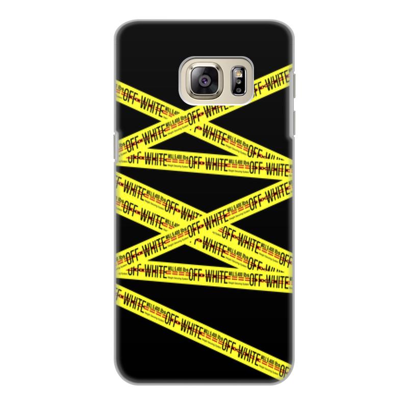 Чехол для Samsung Galaxy S6 Edge, объёмная печать Printio Off-white аксессуар чехол накладка samsung sm g928 galaxy s6 edge cherry white 8308