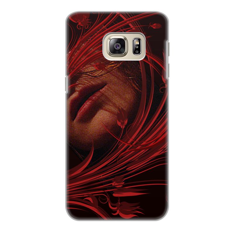 Чехол для Samsung Galaxy S6 Edge, объёмная печать Printio Страсть. чехол для samsung galaxy s6 edge объёмная печать printio собачнику охотнику