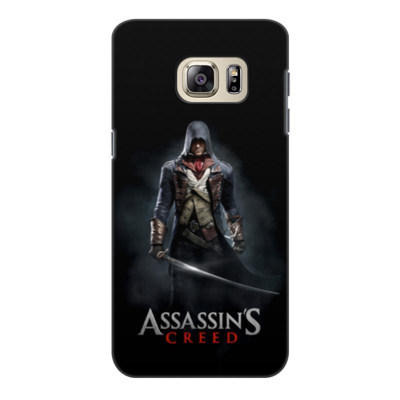 Чехол для Samsung Galaxy S6 Edge, объёмная печать Printio Assassins creed (unity arno) все цены