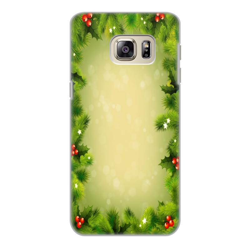 Чехол для Samsung Galaxy S6 Edge, объёмная печать Printio С новым годом! чехол для samsung galaxy s6 edge объёмная печать printio с новым годом