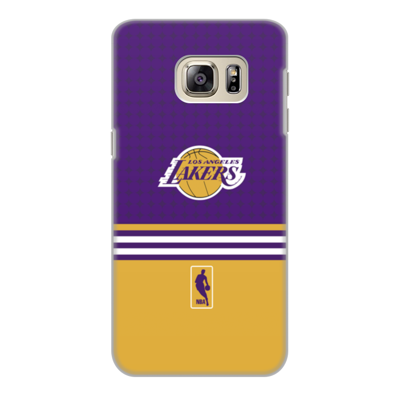 Чехол для Samsung Galaxy S6 Edge, объёмная печать Printio Lakers case pro trevor ariza autographed signed 8x10 photo lakers nba finals free throw coa