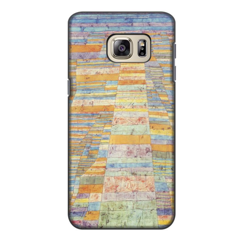 Чехол для Samsung Galaxy S6 Edge, объёмная печать Printio и переулки (пауль клее)
