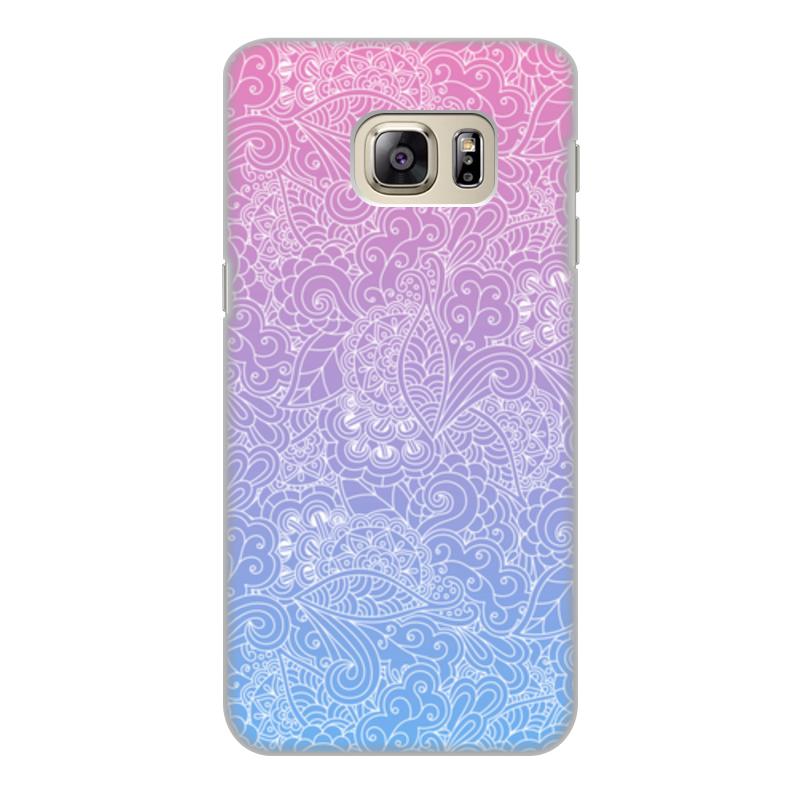 Чехол для Samsung Galaxy S6 Edge, объёмная печать Printio Градиентный узор