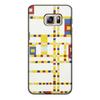 """Чехол для Samsung Galaxy S6 Edge, объёмная печать """"Бродвей буги-вуги (Питер Мондриан)"""" - картина, живопись, мондриан"""