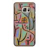 """Чехол для Samsung Galaxy S6 Edge, объёмная печать """"Парк возле Лю (Пауль Клее)"""" - картина, живопись, клее"""