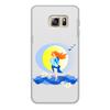 """Чехол для Samsung Galaxy S6 Edge, объёмная печать """"Рождение новой жизни"""" - женщина, мать, рождение, младенец, новая жизнь"""