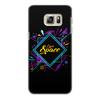 """Чехол для Samsung Galaxy S6 Edge, объёмная печать """"Love Space"""" - звезды, космос, вселенная"""