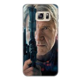 """Чехол для Samsung Galaxy S6 Edge, объёмная печать """"Звездные войны - Хан Соло"""" - кино, фантастика, star wars, звездные войны, дарт вейдер"""