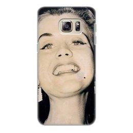 """Чехол для Samsung Galaxy S6 Edge, объёмная печать """"Мисс мира 1951"""" - звезды, мисс"""