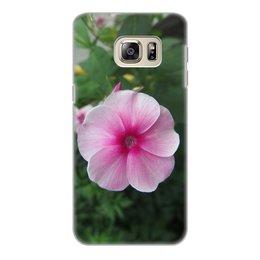 """Чехол для Samsung Galaxy S6 Edge, объёмная печать """"Цветущая долина"""" - лето, алтай, горный алтай, цветущая долина, долина цветов"""