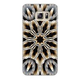 """Чехол для Samsung Galaxy S6 Edge, объёмная печать """"Мембрана"""" - подарок, абстракция, digital art, спектр"""