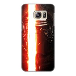 """Чехол для Samsung Galaxy S6 Edge, объёмная печать """"Звездные войны - Кайло Рен"""" - кино, фантастика, star wars, звездные войны, дарт вейдер"""