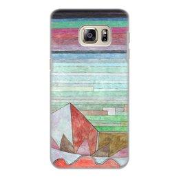"""Чехол для Samsung Galaxy S6 Edge, объёмная печать """"Вид на плодородную страну (картина Клее)"""" - картина, живопись, авангард, клее"""