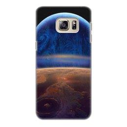 """Чехол для Samsung Galaxy S6 Edge, объёмная печать """"Нептун"""" - нептун"""