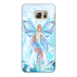 "Чехол для Samsung Galaxy S6 Edge, объёмная печать ""Bianka (Club Winx)"" - фея, для детей, винкс, winx, bianka"