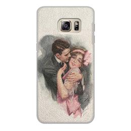 "Чехол для Samsung Galaxy S6 Edge, объёмная печать ""День Святого Валентина"" - арт, настроение, винтаж, 14фев, harrison fisher"